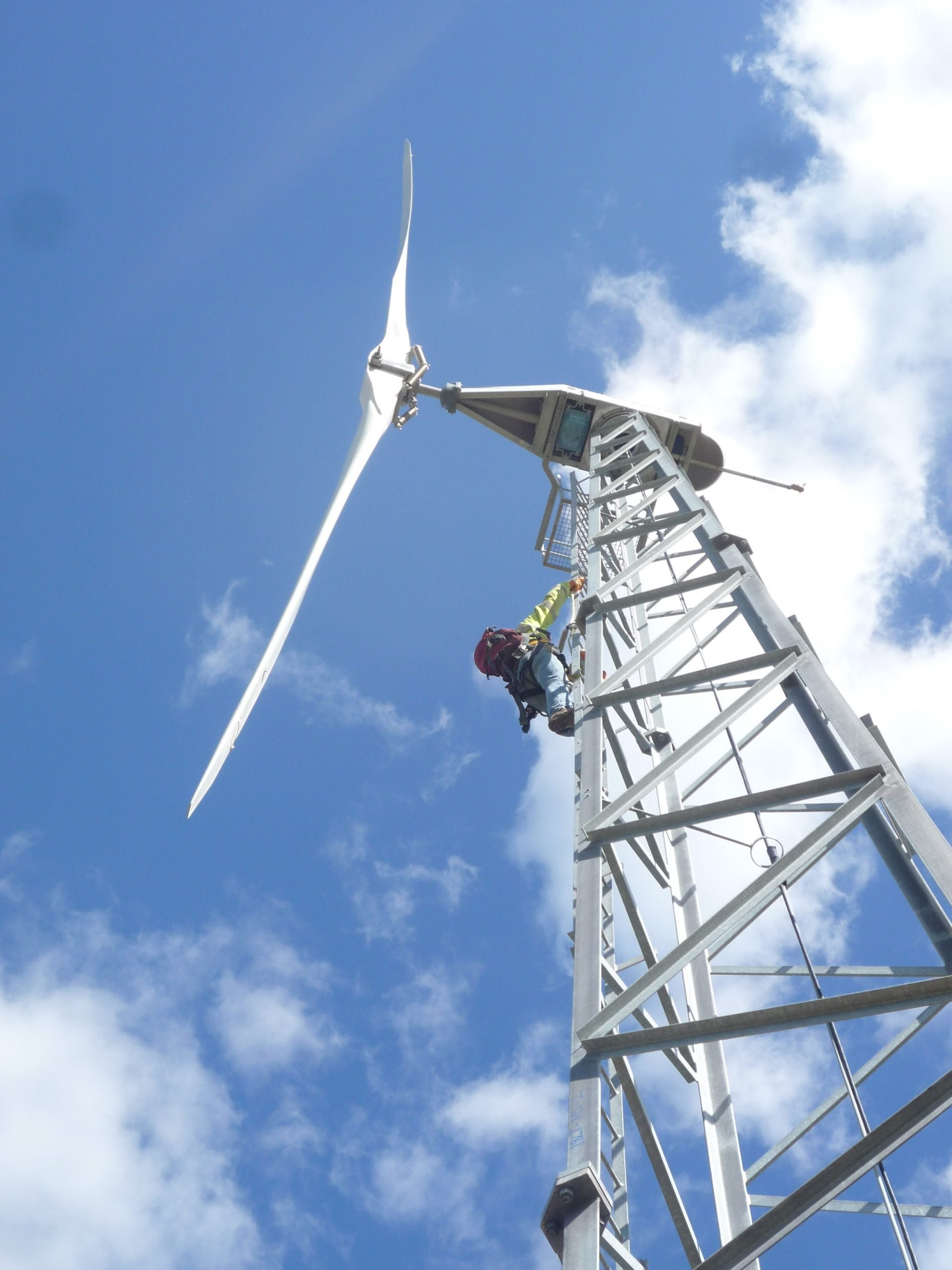 Wind turbine servicing client UK
