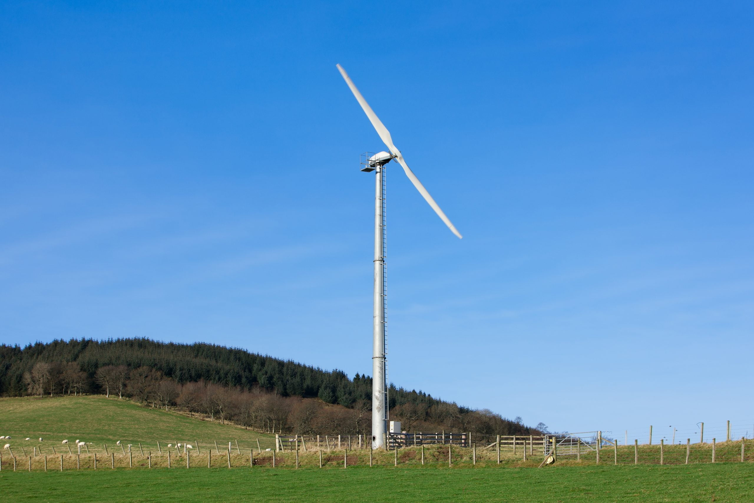 Ryse Energy Small wind turbine UK